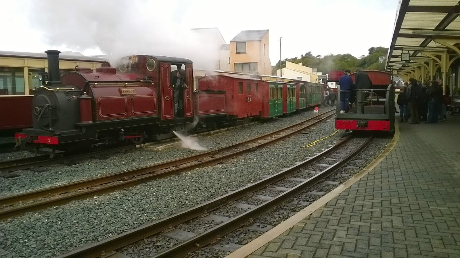 Mary Ann and Prince at Porthmadog