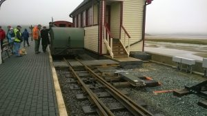 Mary Ann returns to Porthmadog