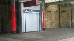Bingley Station Sign