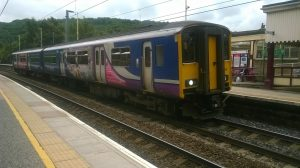 Class 150 at Keighley