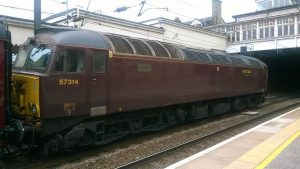 West Coast 57314 at Keighley