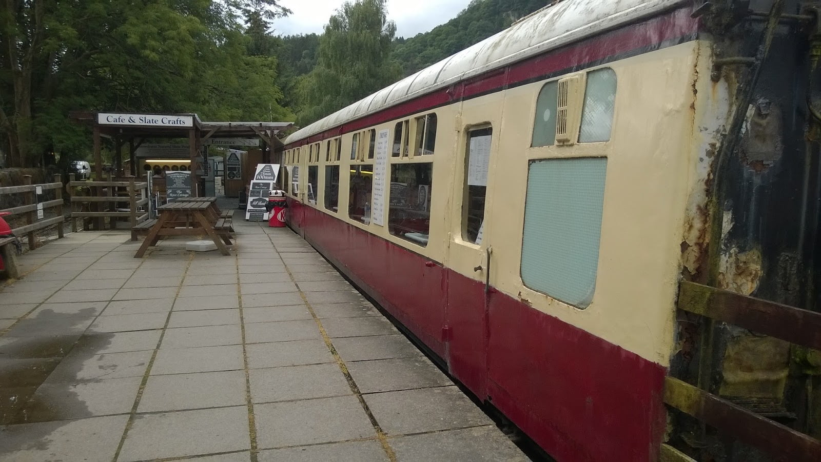 Buffet Coach Cafe at Betws-y-coed
