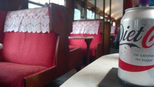 Inside Buffet Coach Cafe
