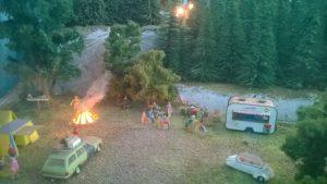 Model Railway Campsite