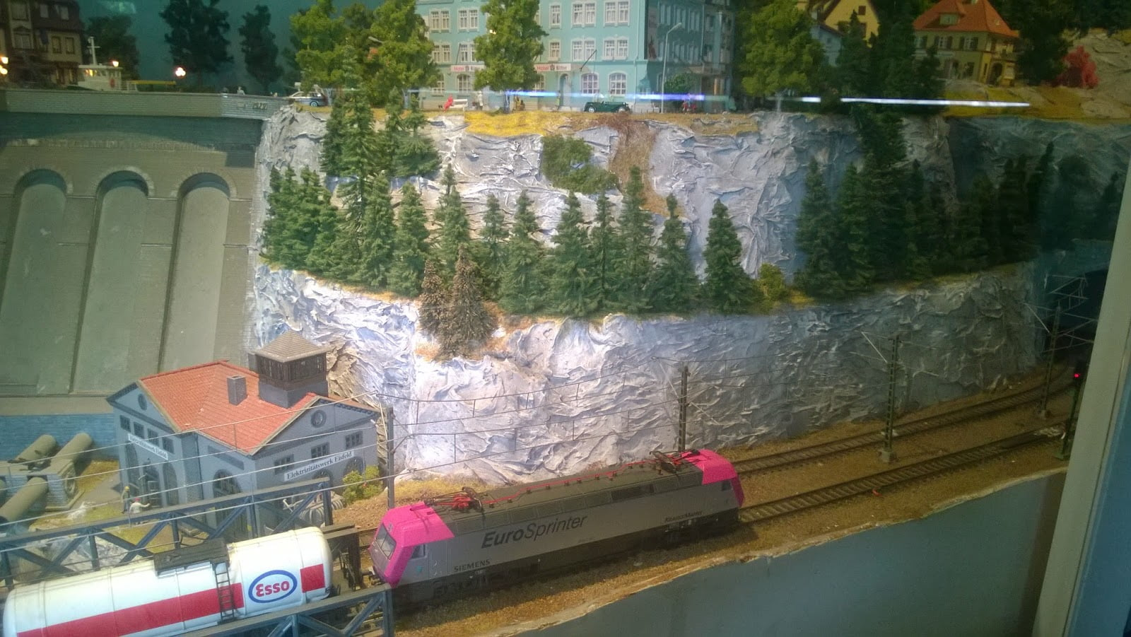 Model Railway Electric Train
