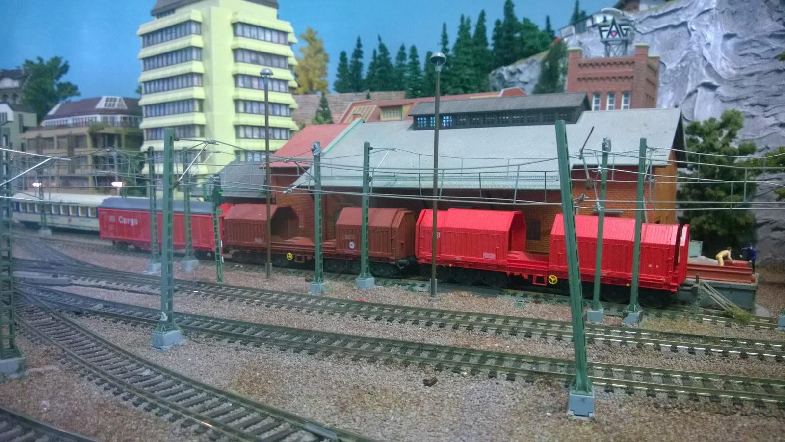 Model Railway Freight Trucks