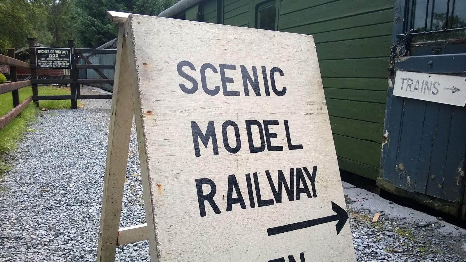 Model Railway Sign