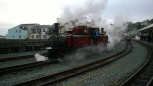 DLG at Porthmadog - Vintage Weekend 2015