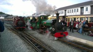 Linda, Blanche and Palmerston on the Ffestiniog Railway