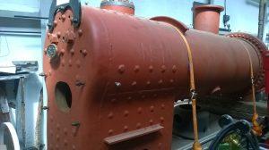 Boiler of No. 10