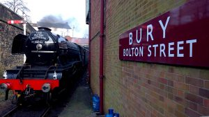 Flying Scotsman at Bury