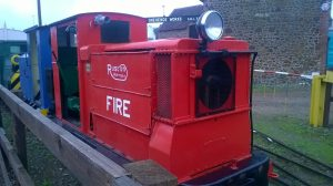 Fire Locomotive at Stonehenge Works