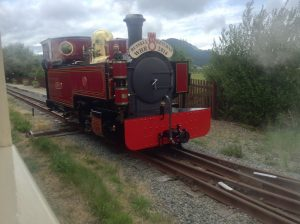 Russell at Pen-y-mount on the Welsh Highland Heritage Railway