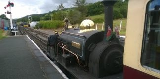 Winifred at Llanuwchllyn