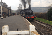 Express Train at Oakworth
