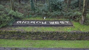 Ingrow West Sign