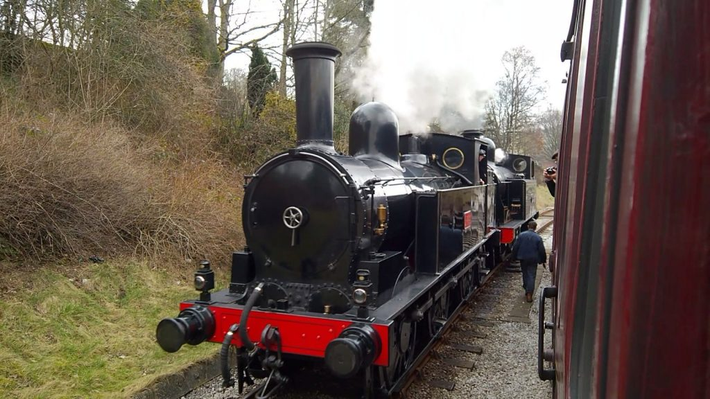 No. 1054 & 85 at Oxenhope