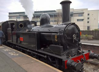 No. 1054 at Keighley