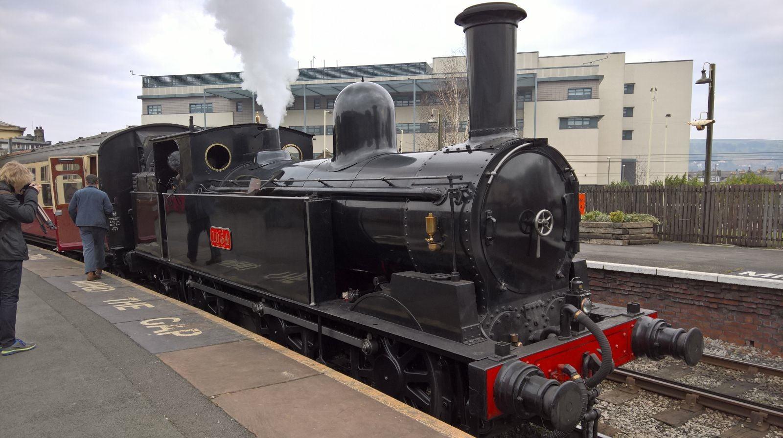 No. 1054 at Keighley