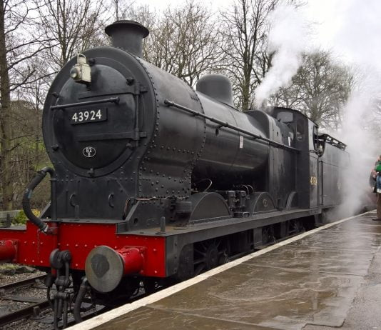 No. 43924 at Oxenhope
