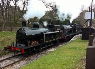 No. 85 & No. 43924 at Oxenhope