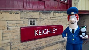 Postman Pat & Jess the Cat at Keighley