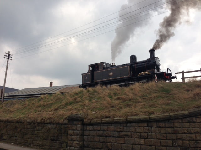 Taff Vale 85 at Keighley