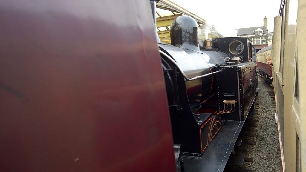 Tight squeeze at Keighley