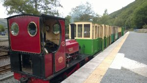 Elidir at Gilfach Ddu on the Llanberis Lake Railway