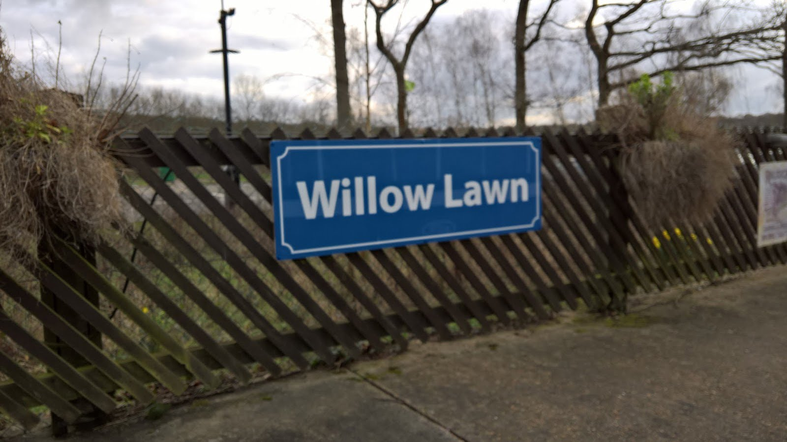 Willow Lawn Station on the Ruislip Lido Railway