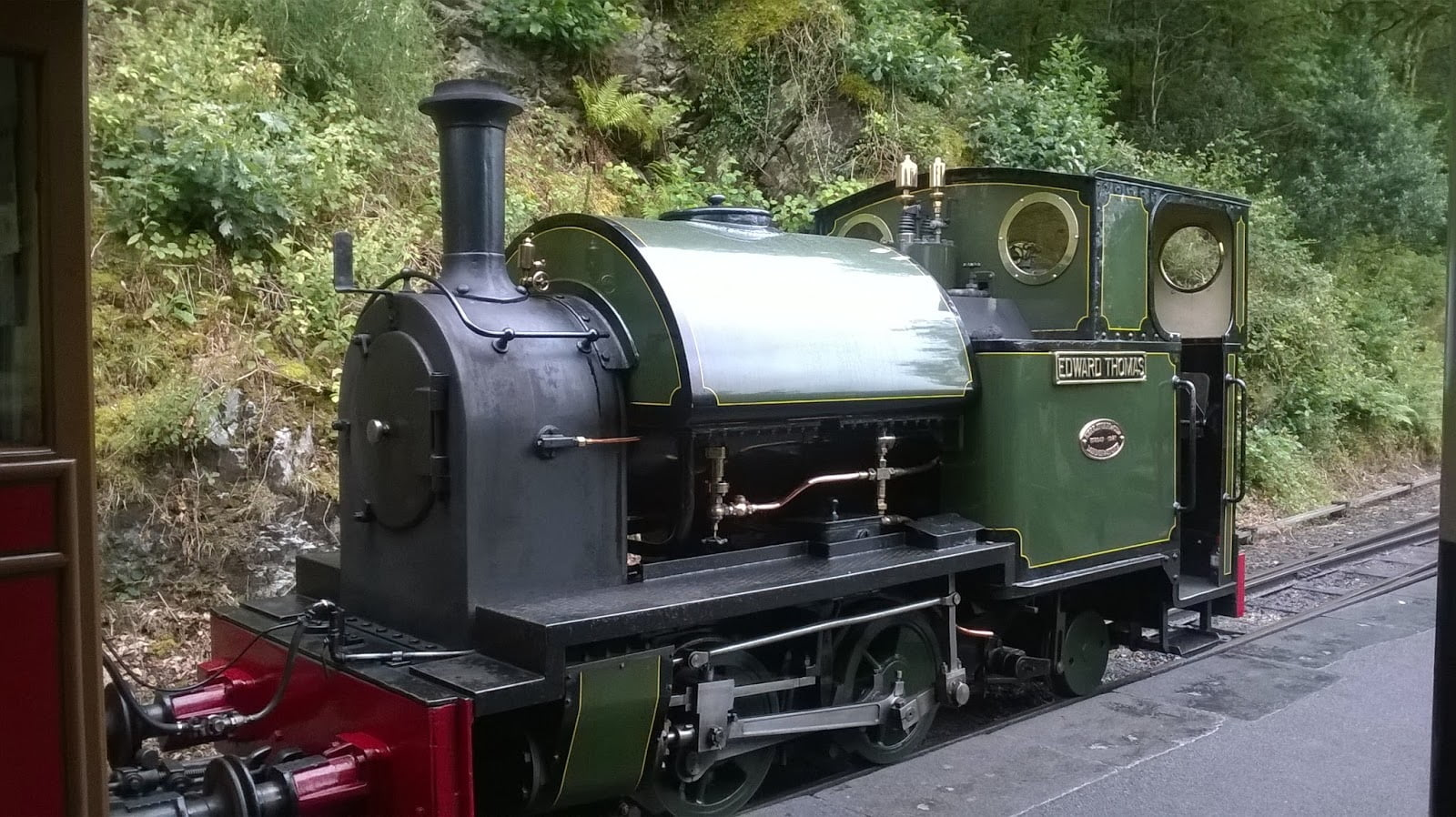 Edward Thomas at Abergynolwyn
