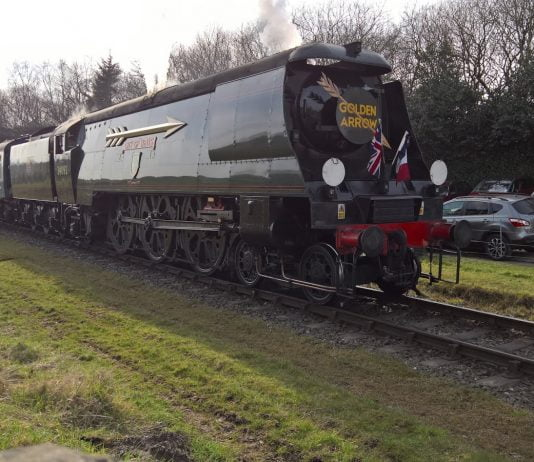 City of Wells at Irwell Vale on the East Lancashire Railway