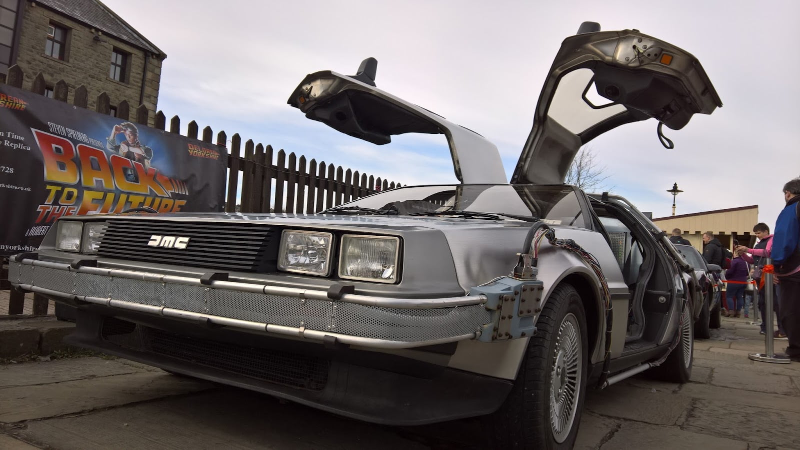 Delorean at the East Lancs Railway