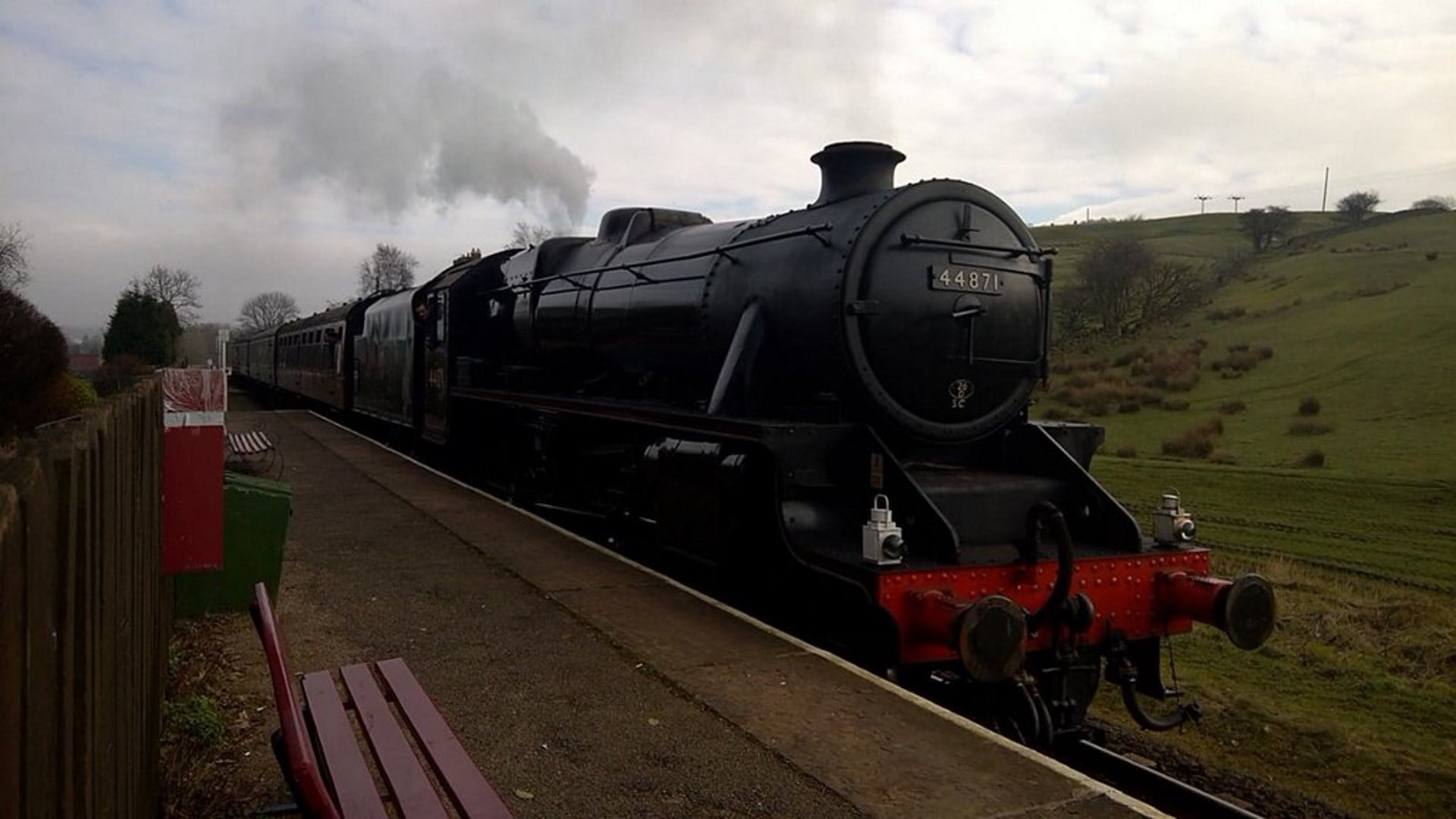 No. 44871 at Irwell Vale