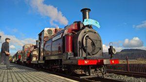 The Snowdonian at Porthmadog on the Ffestiniog & Welsh Highland Railway