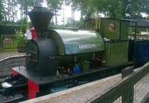 Excelsior on the Great Whipsnade Railway