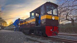 John Rennie on the Ruislip Lido Railway