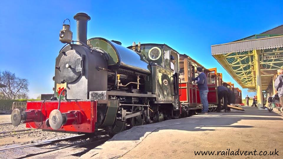 Edward Thomas at Tywyn Wharf