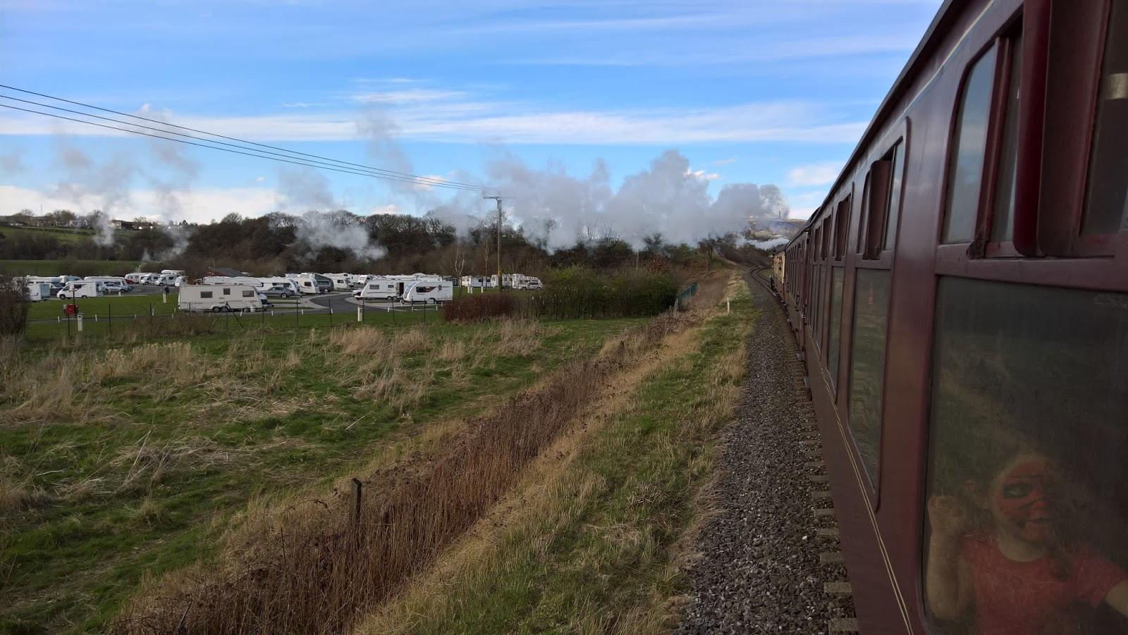 Burrs Country Park on the East Lancs Railway