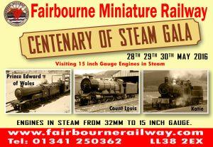 Centenary of Steam Gala
