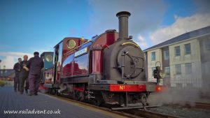 Palmerston & Britomart on the Ffestiniog Railway