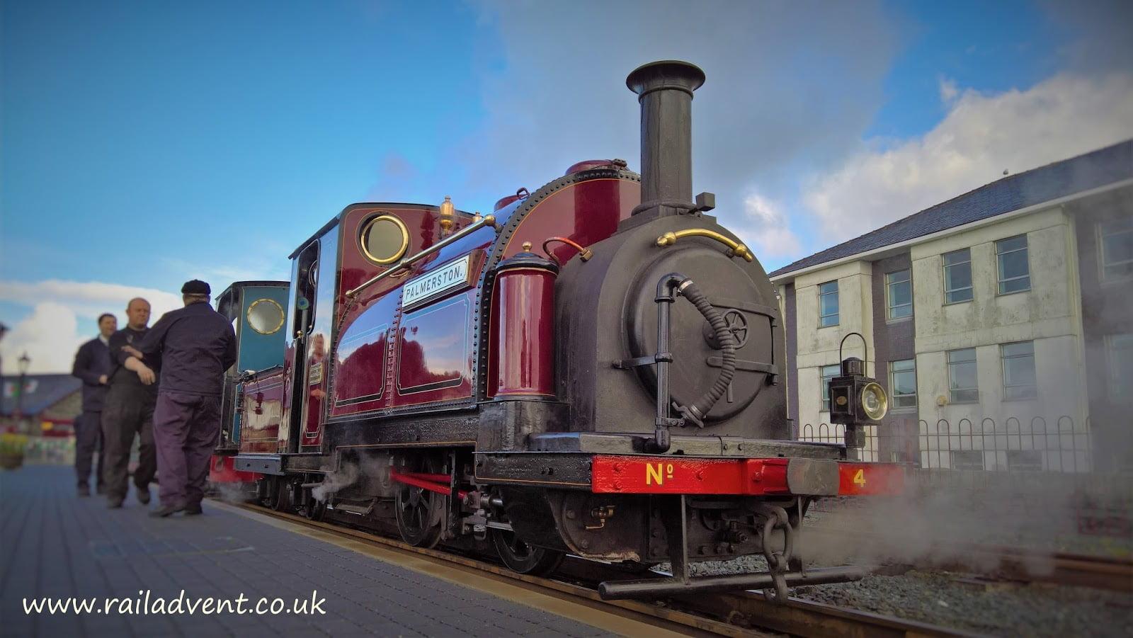 Palmerston & Britomart on the Ffestiniog Railway