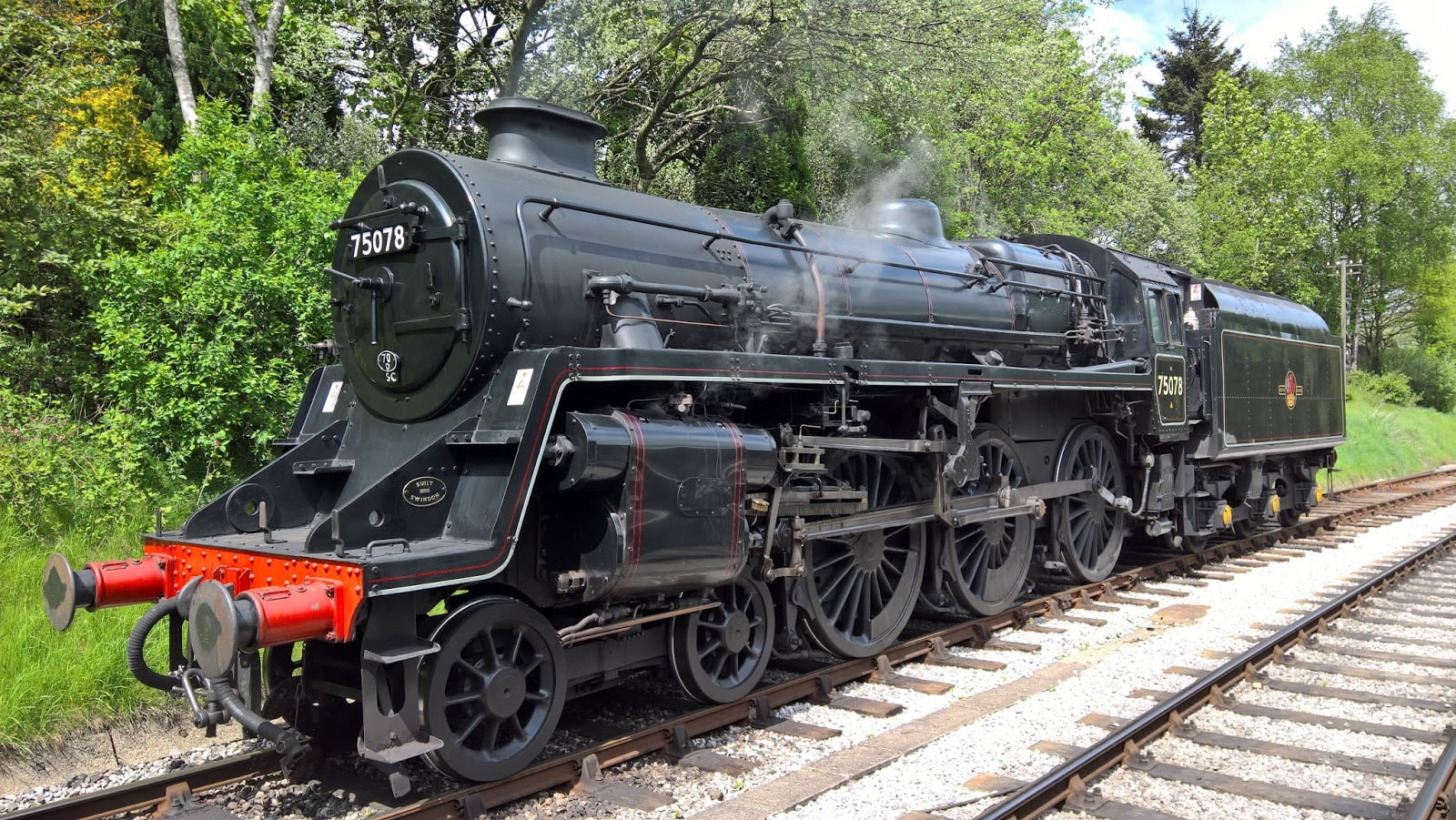 No. 75078 at Oxenhope