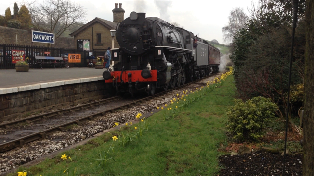 S160 'Big Jim' at Oakworth