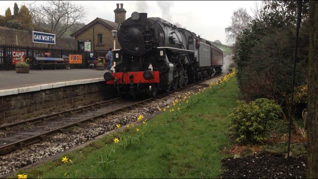 S160 'Big Jim' at Oakworth