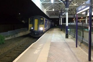 Northern Rail Class 150 at Nelson