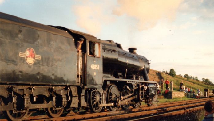 No. 48151 on the Settle and Carlisle