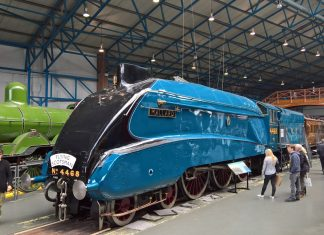 Mallard at the NRM