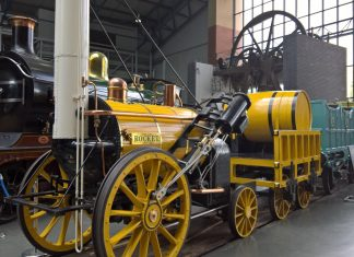 Rocket at the NRM