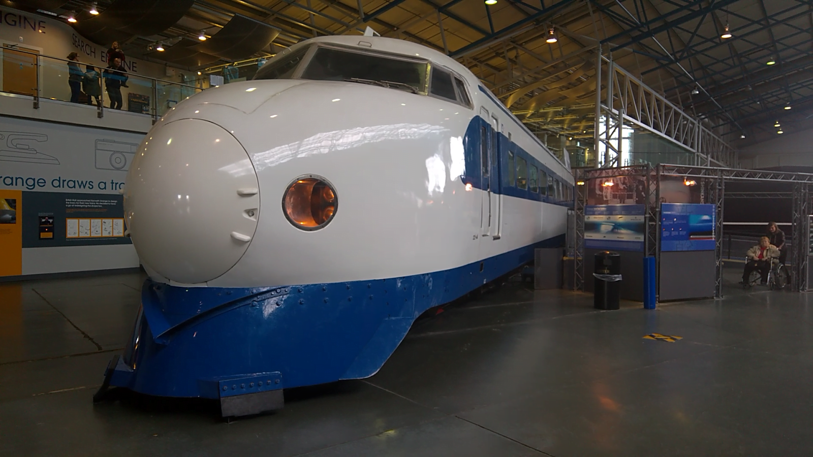 The Bullet Train at the NRM